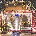 【婚禮佈置】藍黃色系-代號.1314-海豐海鮮餐廳