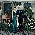 【婚禮佈置】我的古董婚禮-青青風車