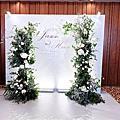 【婚禮佈置】 0329 法式小森林