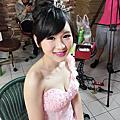 Vivian新娘秘書整體造型-噴槍彩妝-Vivian-2015/04/20-飛天嫁衣-漾時尚婚紗