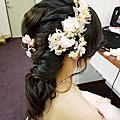 Vivian新娘秘書整體造型-噴槍彩妝-宥宥公主-艾崴婚紗-雙和水源會館