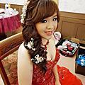 Vivian新娘秘書整體造型-噴槍彩妝-小軒公主-法國台北婚紗-台東一家餐廳