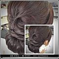 新娘秘書教學~低層次盤髮