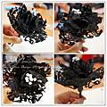 飾品造形設計班~101.05.21新娘頭花製作