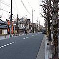 20180313櫻花季前的京都04寺町通