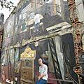 2011.4.17台南海安路藝術街藍晒圖&神農街