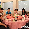 2014.10.4大里美食家海鮮碳烤幫阿母慶生(加映康河夜色)