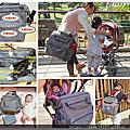 沐伊孕哺幾何星空媽媽包-實用大容量背包