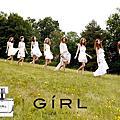 少女時代GIRL香水廣告圖