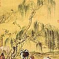清朝宮廷畫畫家 - 郎世寧