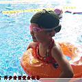 炎炎夏日游泳趣
