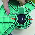 TOSHIBA SA4TM 碳帶紙張安裝說明及圖解