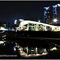 [台中] 秋紅谷廣場夜景
