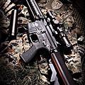[攝影創作]生存遊戲 - G&G CM16 R8-L AEG 怪怪 電動槍
