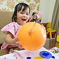 2015-9-2胖嘟嘟的氣球來做畫