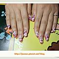 2010-10-Janear NAIL 珍妮兒公主 水晶指甲♥指甲彩繪♥手足保養♥
