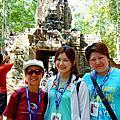 【Angkor】大吳哥城南城門, 微笑高棉,熱氣球體驗, 空
