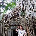 【Angkor】塔普倫廟~塔瑪儂~塔凱歐寺~班蒂喀黛~小吳哥