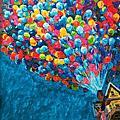 20150517油畫:天外奇蹟