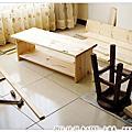 2011.10.20 木工DIY‧松木小邊桌