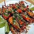 香辣吮指泰國蝦