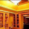 木工天花板作品與工序