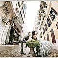 自助婚紗【帶著婚紗去旅行】澳門玩拍婚紗