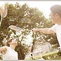 自助婚紗【 羽球拍拍 】