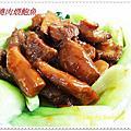 紅燒肉煨鮑魚