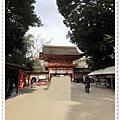 日本京都下鴨神社賞楓