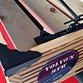 木工榫接 車頂置物籃