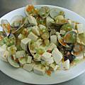 干貝蛤蠣豆腐煲