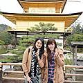 ♥京阪奈追櫻。造訪金閣寺♥