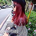 (染髮)黑嘉麗紫紅色