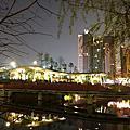 台中秋紅谷 越夜越美麗