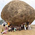 印度的神奇平衡巨石
