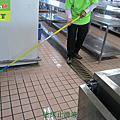 515-銀行員工餐廳廚房石英磚地面止滑防滑施工工程-相片