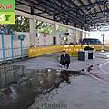 334-Supervision Station-Motorcycle test sites-Concrete floor-anti-slip construction
