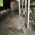 338-Spa Hotel - paving pebbles floor - Clear the dirt ground  construction