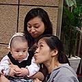 20081116漂亮阿姨與小金剛在美麗華相遇