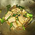 20200528蒜苗炒鹹豬肉