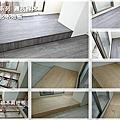 完工照-霧面倒角-鐵灰橡木- 超耐磨木地板/強化超耐磨 傳統架高/直鋪