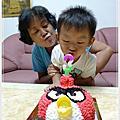 20110816-黑甜粿3歲生日快樂