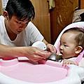 育兒‧摺疊餐椅 ☺ myheart 折疊式兒童安全餐椅 ~ 坊間媽媽們最推薦的兒童餐椅,多功舒適好收納