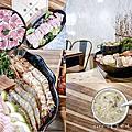 美食.松山區 ☺ 民生社區火鍋 極蜆鍋物 ~ 兩斤半蜆仔蒸出的精華湯底,涮什麼食材都鮮美