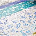 [2013] 3coins 日本地區限定 26 款。漸變的七彩很治癒啊!