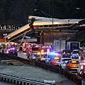 美鐵火車出軌3人死亡