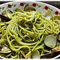 20121027青醬蛤蜊義大利麵