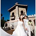JOJO婚紗 ♥ 度假婚紗-愛戀城堡浪漫之旅