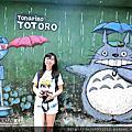 台南大內龍貓公車站